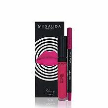 Profumi e cosmetici Set - Mesauda Milano Lip Kit (lipstick/7ml + lip pen/1.14g) (Donut)