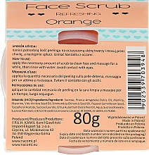 "Scrub viso e labbra ""Orange"" - Nacomi Refreshing Face Orange — foto N3"