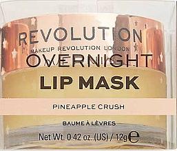 "Balsamo-maschera labbra ""Succo di ananas"" - Makeup Revolution Kiss Lip Balm Pineapple Crush — foto N2"