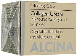 Profumi e cosmetici Crema anti-età al collagene per viso - Alcina E Collagen Creme