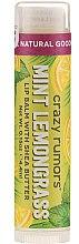Profumi e cosmetici Balsamo labbra - Crazy Rumors Peppermint Lemongrass Lip Balm
