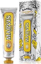Profumi e cosmetici Dentifricio rinfrescante - Marvis Rambas Limited Edition Toothpaste