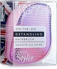 Profumi e cosmetici Spazzola capelli compatta - Tangle Teezer Compact Styler Sunset Pink