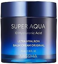 Profumi e cosmetici Crema-balsamo viso idratante - Missha Super Aqua Ultra Hyalron Balm Cream Original
