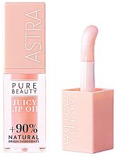 Profumi e cosmetici Olio labbra - Astra Pure Beauty Juicy Lip Oil