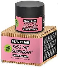 Profumi e cosmetici Maschera labbra da notte - Beauty Jar Kiss Me Goodnight Overnight Lip Mask