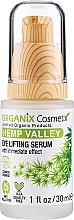 Profumi e cosmetici Siero contorno occhi liftante - Organix Cosmetix Hemp Valley Eye Lifting Serum