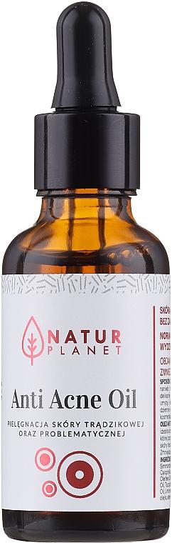 Olio per l'acne - Natur Planet Anti Acne Oil