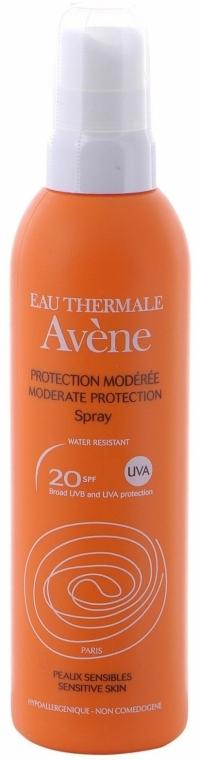 Spray alta protezione solare - Avene Solaires Moderate Protection Spray SPF 20 — foto N1