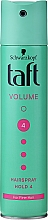 """Profumi e cosmetici Lacca per capelli """"Force Volume"""", presa ultra forte - Schwarzkopf Taft"""