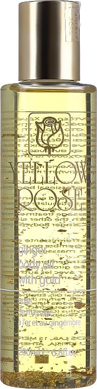 Olio corpo con oro e zenzero - Yellow Rose Ginger Body Oil With Gold — foto N3