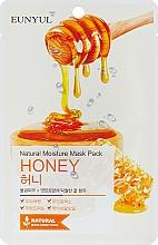 Profumi e cosmetici Maschera in tessuto all'estratto di miele - Eunyul Natural Moisture Mask Pack Honey