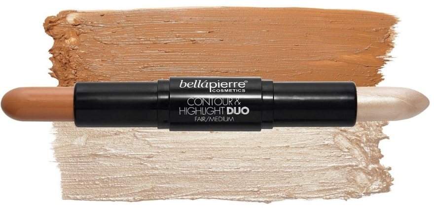 Set - Bellapierre Face Slay Kit Fair/Medium (stick/8.6g + powder/6.5g + spray/70ml + sponge/1pcs) — foto N3