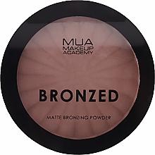 Profumi e cosmetici Cipria abbronzante - MUA Bronzed Matte Bronzing Powder