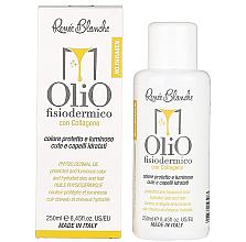 Profumi e cosmetici Olio detergente per il cuoio capelluto e capelli - Renee Blanche Olio Fisiodermico Collagen Cleansing Oil