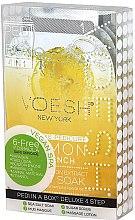 """Profumi e cosmetici Set pedicure """"Limone"""" - Voesh Pedi In A Box Deluxe Pedicure Lemon Quench (35 g)"""