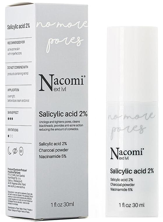 Siero viso al 2% di acido salicilico - Nacomi Next Level Salicylic Acid 2%