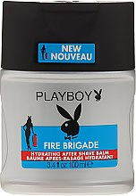 Profumi e cosmetici Balsamo dopobarba - Playboy Fire Brigade After Shave Balm
