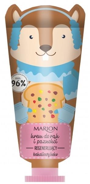 Crema mani rigenerante - Marion Funny Animals Hand Cream