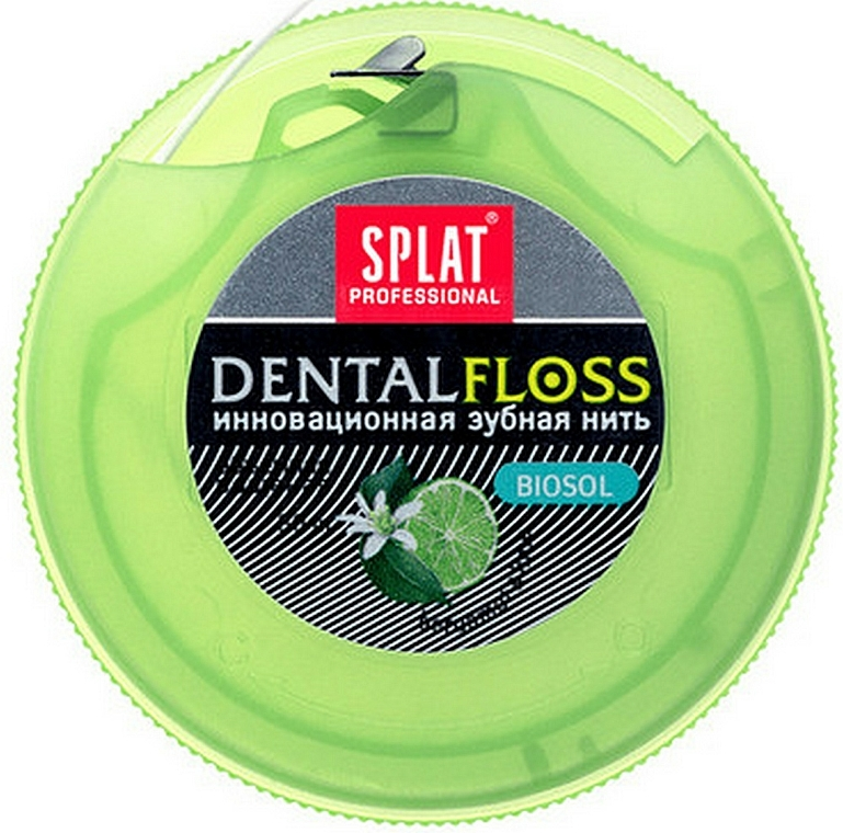 "Filo interdentale ""Bergamotto e Lime"" - SPLAT Professional DentalFloss — foto N2"