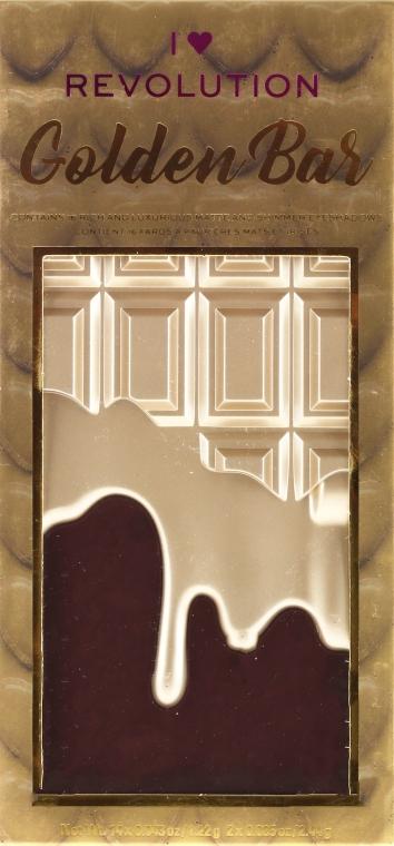 Palette di ombretti, 16 tonalità - I Heart Revolution Chocolate Eyeshadow Palette