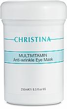 Profumi e cosmetici Maschera multivitaminico contorno occhi - Christina Multivitamin Anti-Wrinkle Eye Mask