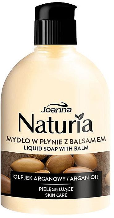 """Sapone liquido """"Olio di argan"""", flip-top - Joanna Naturia Argan Oil Liquid Soap"""