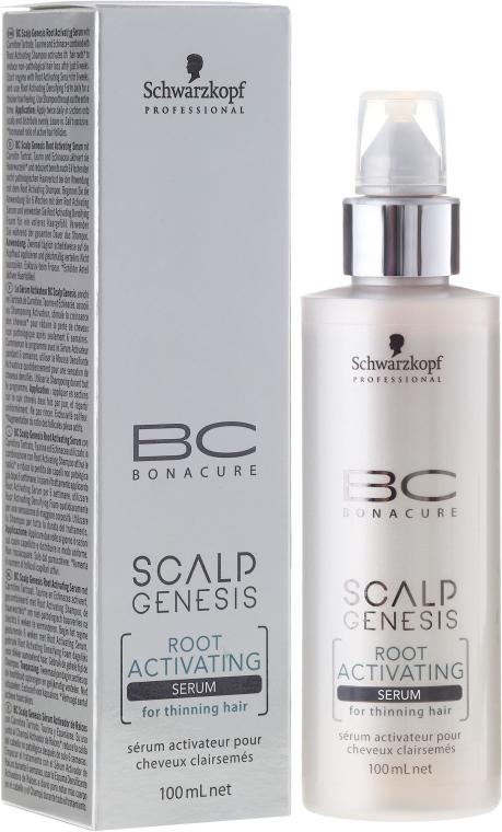 Siero per capelli - Schwarzkopf Professional BC Bonacure Scalp Genesis Root Activating Serum