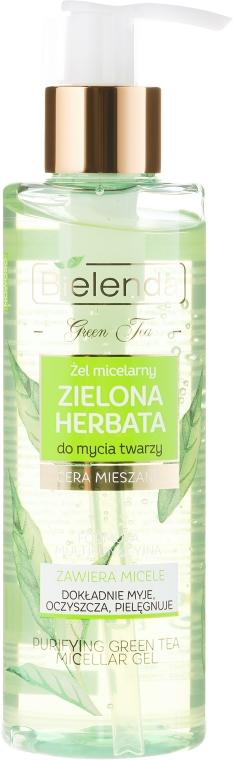 Gel micellare detergente - Bielenda Green Tea Cleansing Micellar Wash Gel — foto N1