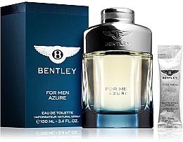 Profumi e cosmetici Bentley Bentley For Men Azure - Set (edt/100ml + afsh/balm/5ml)