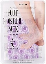 Profumi e cosmetici Maschera piedi idratante - Kocostar Foot Moisture Pack Purple