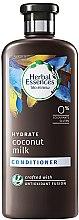 Profumi e cosmetici Condizionante per capelli - Herbal Essences Coconut Milk Conditioner