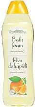 """Profumi e cosmetici Bagnoschiuma """"Agrumi con vitamina C"""" - Bluxcosmetics Naturaphy Citrus & Vitamin C Bath Foam"""