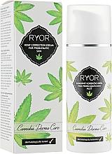 Profumi e cosmetici Crema correttiva alla canapa per pelli problematiche - Ryor Cannabis Derma Care Corrective Hemp Cream For Skins To Pro
