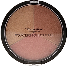 Profumi e cosmetici Tavolozza illuminanti - Pierre Rene Highlighting Powder Palette