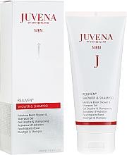 Profumi e cosmetici Gel-shampoo per la doccia - Juvena Rejuven Men Moisture Boost Shower & Shampoo Gel