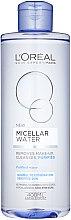 Profumi e cosmetici Acqua micellare per pelli normali e miste - L'Oreal Paris Micellar Water Normal To Combination