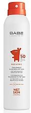Profumi e cosmetici Spray solare per bambini SPF 50+ - Babe Laboratorios Pediatric Wet Skin