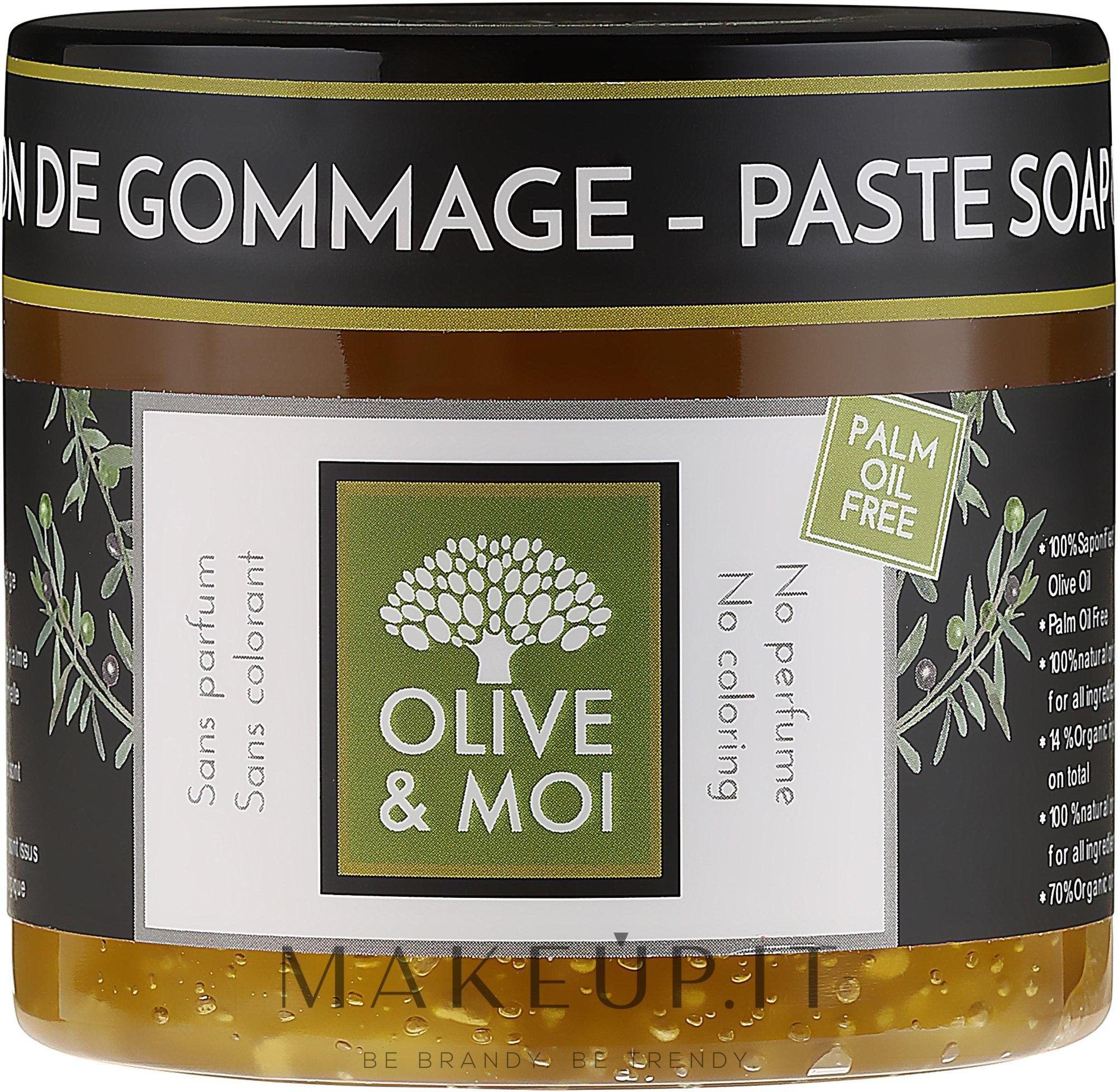 Sapone nero senza sapore - Saryane Olive & Moi Savon Noir — foto 200 g