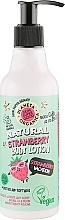 """Profumi e cosmetici Lozione corpo """"Vacanza alla fragola"""" - Planeta Organica Natural Body Lotion Strawberry Vacation"""