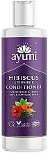 """Profumi e cosmetici Balsamo """"Ibisco e Curcuma"""" - Ayumi Hibiscus & Turmeric Conditioner"""