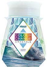 """Profumi e cosmetici Gel deodorante con cristalli """"Freschezza dell'oceano"""" - Airpure Colour Change Crystals Ocean Fresh"""