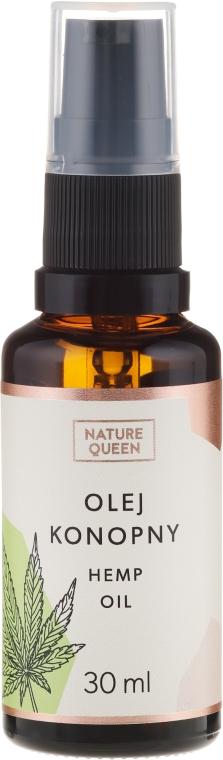 Olio cosmetico di semi di canapa - Nature Queen Hemp Oil