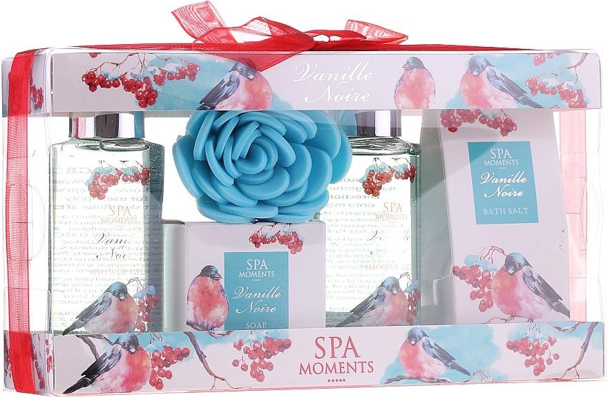 Set - Spa Moments Vanille Noire (sh/gel/100ml+sh/gel/100ml+salf/50+soap/50g+sh/sponge)