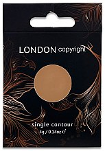 Profumi e cosmetici Cipria-contouring - London Copyright Magnetic Face Powder Contour
