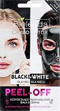 Profumi e cosmetici Maschera viso - Bielenda Carbo Detox Black & White Mask