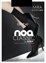 "Profumi e cosmetici Calze da donna in microfibra ""Mira"" 40 Den, 2, black - Knittex"