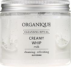 """Profumi e cosmetici Schiuma corpo """"Milk"""" - Organique Cleansing Ritual Creamy Whip Milk"""