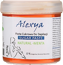Profumi e cosmetici Pasta di zucchero depilatoria alla menta - Alexya Sugar Paste Natural Menta
