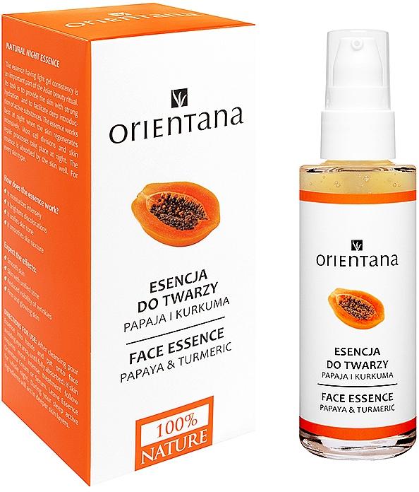 "Maschera viso ""Papaya e curcuma"" - Orientana Bio Essence-Mask Papaya & Turmeric"
